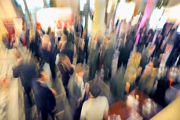 Nederland, Nijmegen, 15-3-2012Vrije weergave van bezoekers van een congres, congresgangers.Foto: Flip Franssen/Hollandse Hoogte