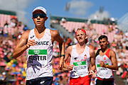 David Kuster (FRA) compets in 10 000 Metres Walk Men during the IAAF World U20 Championships 2018 at Tampere in Finland, Day 5, on July 14, 2018 - Photo Julien Crosnier / KMSP / ProSportsImages / DPPI