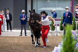 Merkulova Inessa, RUS, Mister X, 161<br /> Olympic Games Tokyo 2021<br /> © Hippo Foto - Dirk Caremans<br /> 23/07/2021