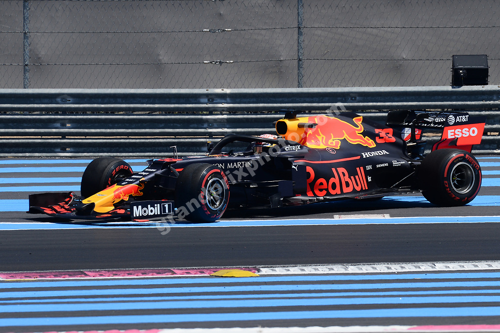 Pierre Gasly (Red Bull-Honda) spins during practice for the 2019 French Grand Prix at Paul Ricard. Photo: Grand Prix Photo