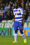 Reading's Ola John makes his debut for Reading during the Sky Bet Championship match between Reading and Ipswich Town at the Madejski Stadium, Reading, England on 11 September 2015. Photo by Mark Davies.