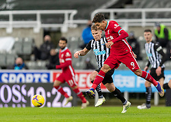 NEWCASTLE-UPON-TYNE, ENGLAND - Wednesday, December 30, 2020: Liverpool's Roberto Firmino during the FA Premier League match between Newcastle United FC and Liverpool FC at St. James' Park. The game ended in a goal-less draw. (Pic by David Rawcliffe/Propaganda)