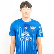 THAILAND - JUNE 11: Gyeoung Min Kim #30 of Chon Buri FC on June 11, 2019.<br /> .<br /> .<br /> .<br /> (Photo by: Naratip Golf Srisupab/SEALs Sports Images/MB Media Solutions)