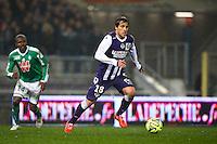 Oscar Trejo - 28.02.2015 - Toulouse / Saint Etienne - 27eme journee de Ligue 1 -<br />Photo : Manuel Blondeau / Icon Sport