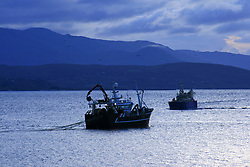 July 21, 2019 - Fishing In Kenmare Bay, County Kerry, Ireland (Credit Image: © Peter Zoeller/Design Pics via ZUMA Wire)