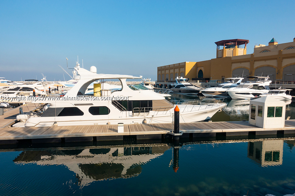 Marina at Al Out in Fahaheel in Kuwait, Middle East