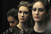 MANHATTAN, NEW YORK, FEBRUARY 18, 2015 Last Days of Lincoln Center Mercedes Benz Fashion Week in Manhattan, NY. Lela Rose fashion show. 2/18/2015