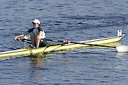Boston, Massachusetts, LW1X, Ann YOUNG, Location,  Eliot Bridge, Cambridge side, at the Forty Second, [42nd] Head of the Charles, 22/10/2006.  Photo  Peter Spurrier/Intersport Images...[Mandatory Credit, Peter Spurier/ Intersport Images] Rowing Course; Charles River. Boston. USA