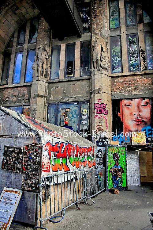 Germany Berlin Graffiti