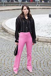 Stacy Martin arriving at Miu Miu fashion show Paris during the Paris fashion week in Paris, France on March 06, 2017. Photo by Nasser Berzane/ABACAPRESS.COM