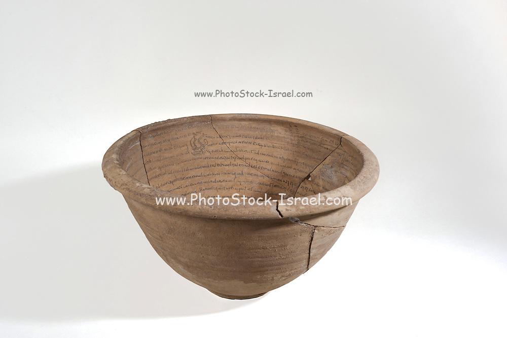 An Aramaic incantation bowl 5-6th century CE