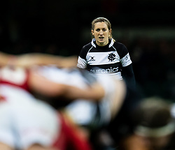 Annabel Sergeant of Barbarians<br /> <br /> Photographer Simon King/Replay Images<br /> <br /> Friendly - Wales v Barbarians - Saturday 30th November 2019 - Principality Stadium - Cardiff<br /> <br /> World Copyright © Replay Images . All rights reserved. info@replayimages.co.uk - http://replayimages.co.uk