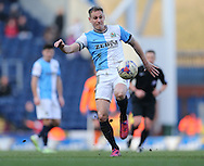 Matthew Kilgallon, Blackburn Rovers defender during the Sky Bet Championship match between Blackburn Rovers and Brighton and Hove Albion at Ewood Park, Blackburn, England on 21 March 2015.