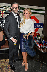 DENISE VAN OUTEN and EDDIE BOXSHALL at a party to celebrate the opening of Cahoots - a new nightclub from the Inception Group at 13 Kingly Court, Soho, London on 26th February 2015.