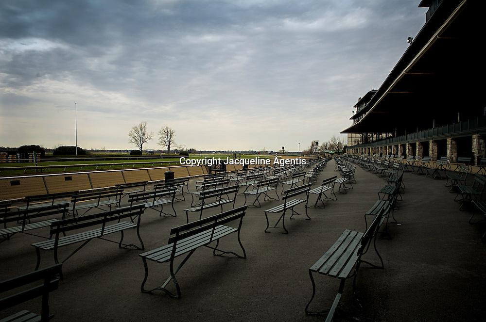 Keeneland Racetrack 221. Lexington, KY.