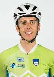 Ziga Horvat during photo session of Slovenian Cycling Team for 2018 UCI Road World Championships Innsbruck, on September 17, in Spodnji Brnik, Slovenia. Photo by Vid Ponikvar / Sportida