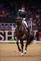 Schellekens Bartels Imke (NED) - Toots<br /> Kur - Reem Acra FEI World Cup Dressage Qualifier - The London International Horse Show Olympia - London 2012<br /> © Hippo Foto - Jon Stroud