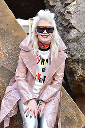 Pam Hogg at the Royal Academy Of Arts Summer Exhibition Preview Party 2018 held at The Royal Academy, Burlington House, Piccadilly, London, England. 06 June 2018.