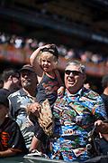 Fans watch the San Francisco Giants take on the Arizona Diamondbacks at AT&T Park in San Francisco, California, on August 6, 2017. (Stan Olszewski/Special to S.F. Examiner)