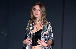Immy Waterhouse attending the Burberry London Fashion Week Show at Makers House, Manette Street, London.