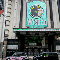 Wicked at the Apollo Victoria;<br />Theatres in lockdown;<br />West End Theatreland, London, UK;<br />7th July 2020.<br /><br />© Pete Jones<br />pete@pjproductions.co.uk