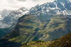 Mountain views on 5 Lakes hiking trail from Zermatt, Switzerland. 17/06/14. Photo by Andrew Tallon