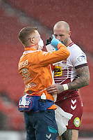 Rugby League - 2020 Coral Challenge Cup - Leeds Rhinos vs Wigan Warrior - TW Stadium, Stadium<br /> <br /> Wigan Warriors's Zak Hardaker receives treatment for a head injury<br /> <br /> COLORSPORT/TERRY DONNELLY