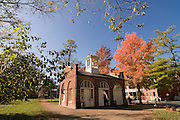 Chapel in autumn Harpers Ferry. Maryland. United States of America.