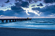 Fishing Pier.Pompano Beach.Florida