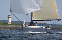 Sailing - SCOTLAND  - 27th May 2018<br /> <br /> 3rd days racing the Scottish Series 2018, organised by the  Clyde Cruising Club, with racing on Loch Fyne from 25th-28th May 2018<br /> <br /> GBR447R, Local Hero, Geoff & Norman Howison, RGYC, Beneteau 44.7<br /> <br /> Credit : Marc Turner<br /> <br /> Event is supported by Helly Hansen, Luddon, Silvers Marine, Tunnocks, Hempel and Argyll & Bute Council along with Bowmore, The Botanist and The Botanist