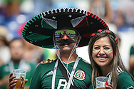 Fans of Mexico during the 2018 FIFA World Cup Russia, round of 16 football match between Brazil and Mexico on July 2, 2018 at Samara Arena in Samara, Russia - Photo Thiago Bernardes / FramePhoto / ProSportsImages / DPPI