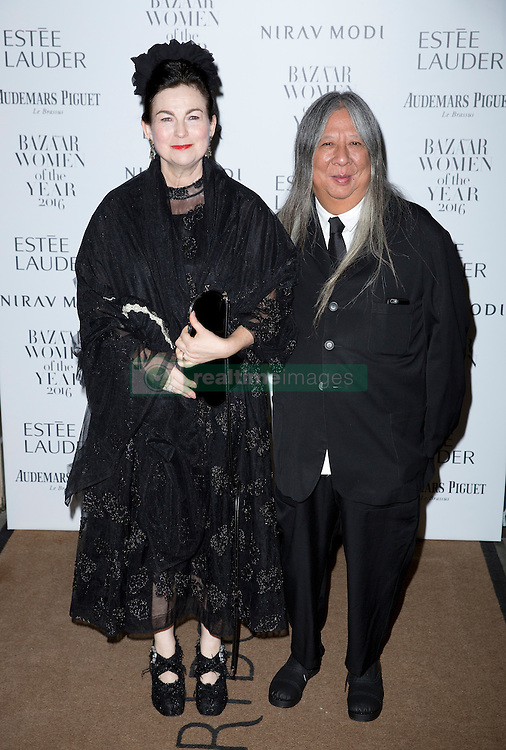 (R) John Rocha attending the Harper's Bazaar Woman of the Year awards at Claridges in London. Picture date: Monday October 31, 2016. Photo credit should read: Isabel Infantes / EMPICS Entertainment.