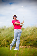 Rory McIlroy at the doomed Oakley shoot in Ireland Rory McIlroy