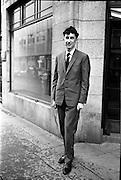 18/12/1962<br /> 12/18/1962<br /> 18 December 1962<br /> Portrait of Mr. Sean Cloney for Irish Flour Millers taken outside Lensmen office on Fleet street Dublin.