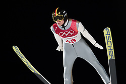 February 17, 2018 - Pyeongchang, SOUTH KOREA - 180217 Andreas Wellinof of Germany in the men's large hill individual final during day eight of the 2018 Winter Olympics on February 17, 2018 in Pyeongchang..Photo: Carl Sandin / BILDBYRÃ…N / kod CS / 57999_303 (Credit Image: © Carl Sandin/Bildbyran via ZUMA Press)