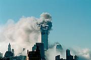 World Trade Center, New York City terrorist attack, September 11, 2001.