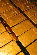 Gold Bricks at a Federal Repository in Wilmington, Delaware.