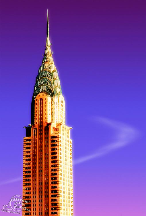 Chrysler Building, IllustrationManhattan, New York
