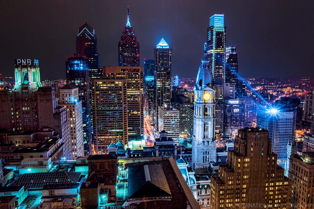Center City, Philadelphia (Night)