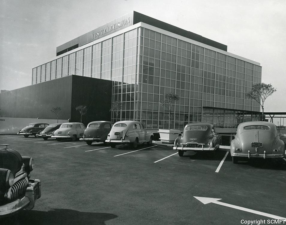 1959 CBS Television City on Beverly Blvd.