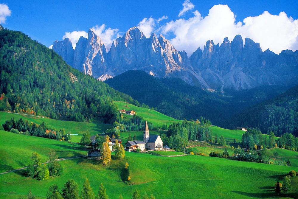 St. Magdalena, Dolomites, Northern Italy