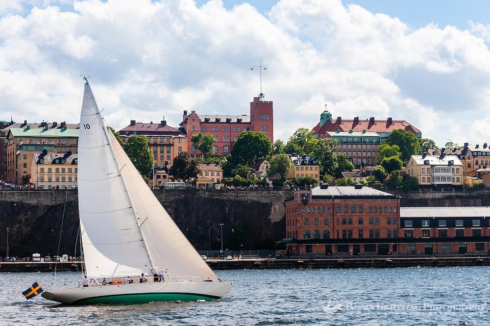 Sweden, Stockholm. Sailboat.