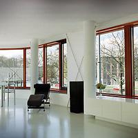 Nederland. Amsterdam. 9 april 2003..Mauritskade 68. Wonen. Interieur.