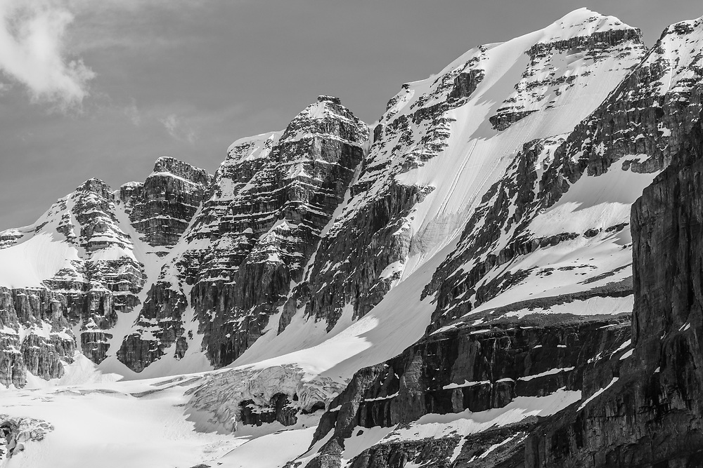 The North Face of Stanley Peak 3155m in Kootenay National Park, BC, Canada