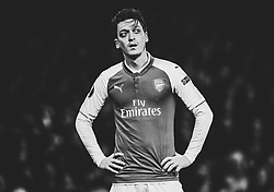 Mesut Ozil of Arsenal - Mandatory by-line: Robbie Stephenson/JMP - 15/03/2018 - FOOTBALL - Emirates Stadium - London, England - Arsenal v AC Milan - UEFA Europa League Round of 16, Second leg