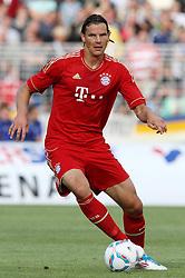 14.07.2011, Ernst-Abbe-Sportfeld, Jena, GER, Benefizspiel, Carl Zeis Jena vs FC Bayern im Bild ..Daniel van Buyten (Bayern München) . ..  //during the freindlc match between Carl Zeis Jena - FC Bayern 2011/07/14   EXPA Pictures © 2011, PhotoCredit: EXPA/ nph/  Hessland       ****** out of GER / CRO  / BEL ******