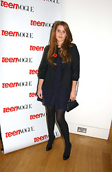 PRINCESS BEATRICE OF YORK at the opening of an exhibition entitled Exceptional Youth supported by Teen Vogue at the National Portrait Gallery, London on 3rd November 2006.<br /><br />NON EXCLUSIVE - WORLD RIGHTS