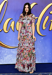 Lilah Parsons attending the Aladdin European Premiere held at the ODEON Luxe Leicester Square, London