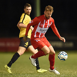 BRISBANE, AUSTRALIA - JUNE 17:  during the NPL Senior Men's Round 17 match between Olympic FC and Moreton Bay Jets on June 17, 2018 in Brisbane, Australia. (Photo by Olympic FC / Patrick Kearney)