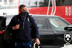 Pat Lam the Bristol Bears director of rugby arrives for the game - Mandatory by-line: Matt Impey/JMP - 26/12/2020 - RUGBY - Twickenham Stoop - London, England - Harlequins v Bristol Bears - Gallagher Premiership Rugby
